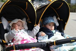 Best double pram for 3 year old and newborn
