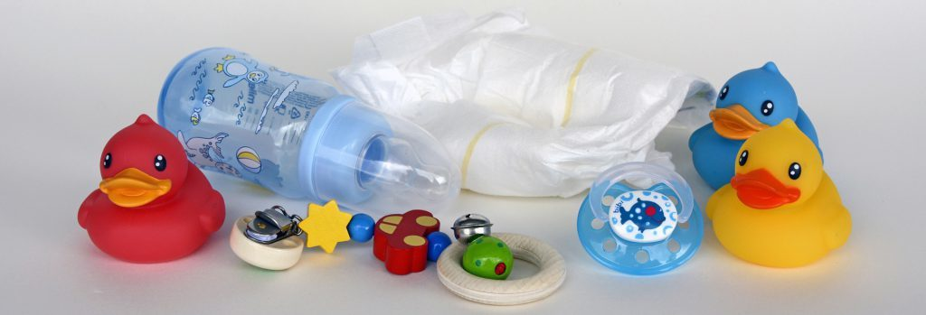 what to put in diaper caddy