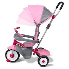 Radio Flyer 4-in-1 Stroll N Trike Pink